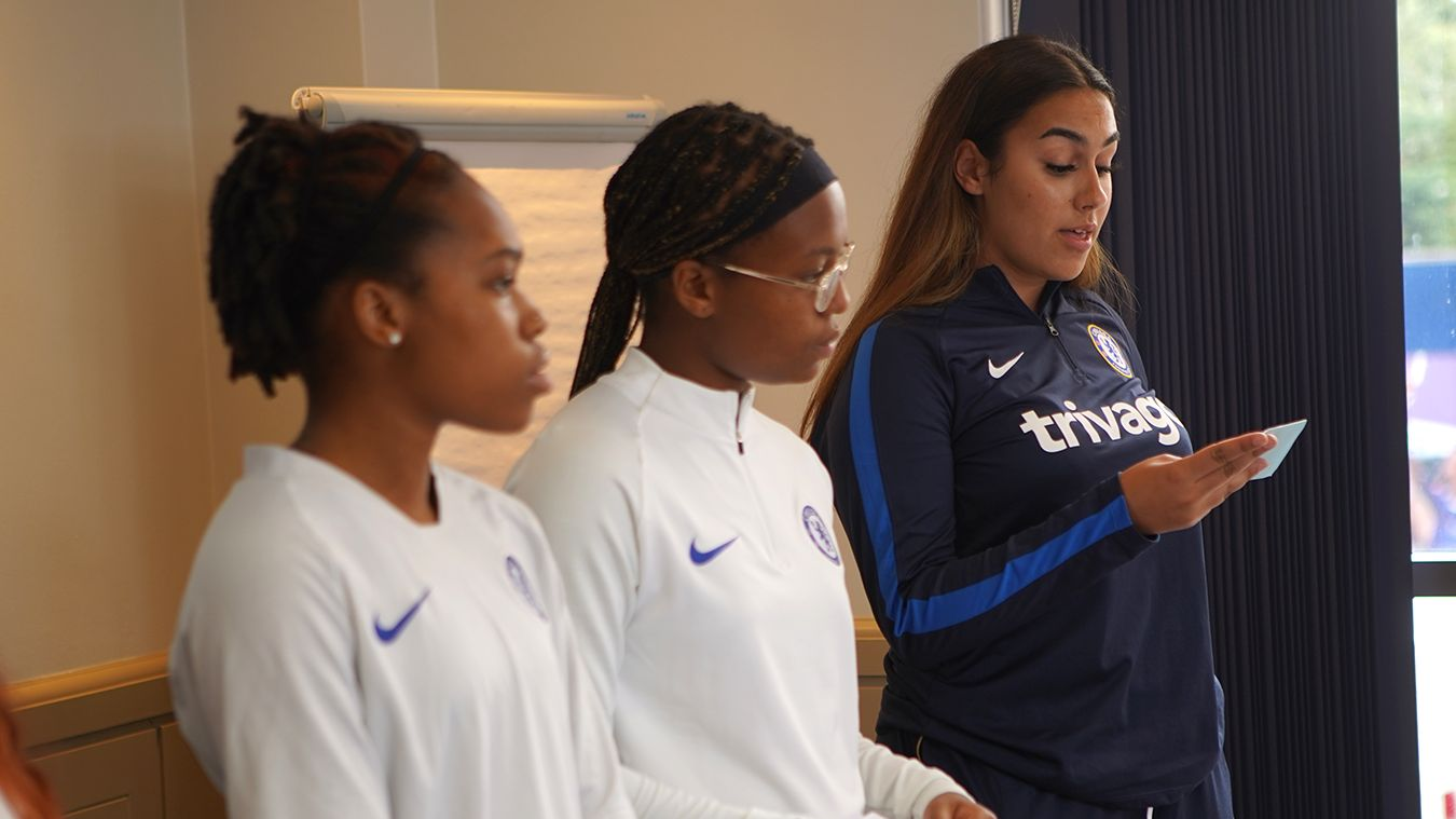 Jasmine, Chelsea, Premier League Kicks, Youth Summit
