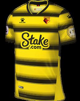 Watford home shirt, 2021/22