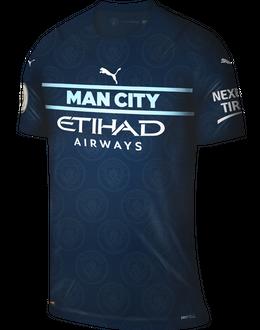 Man City third shirt, 2021/22