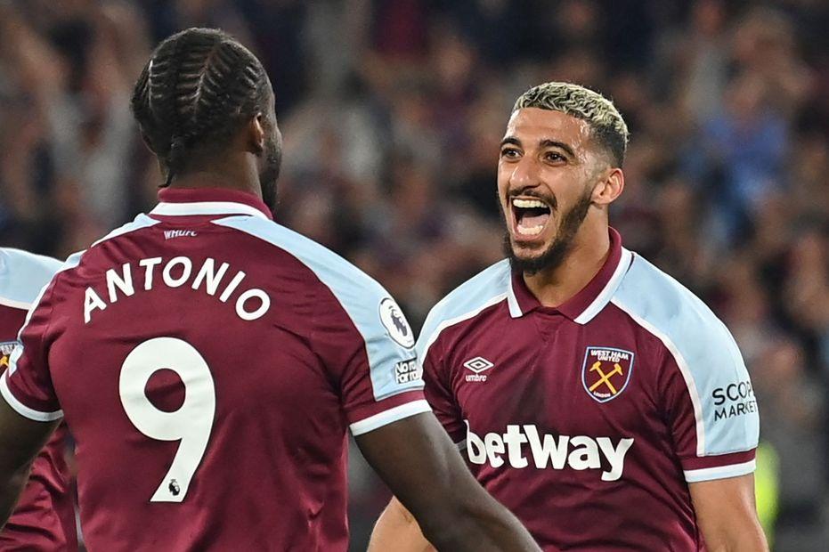 Antonio and Benrahma, West Ham