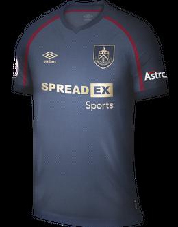Burnley third shirt, 2021/22