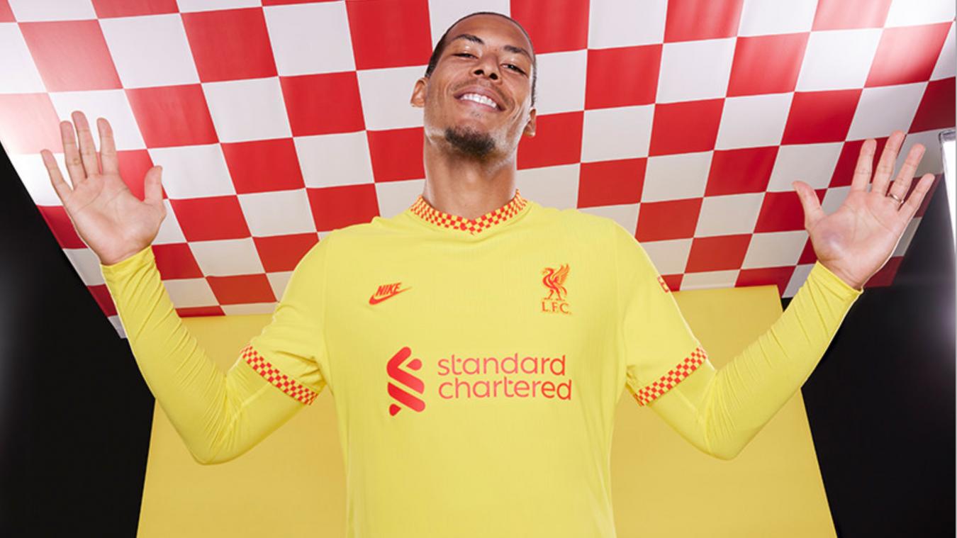 Liverpool third kit