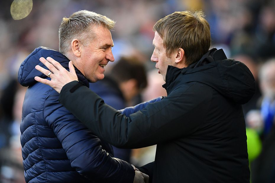 Dean Smith and Graham Potter
