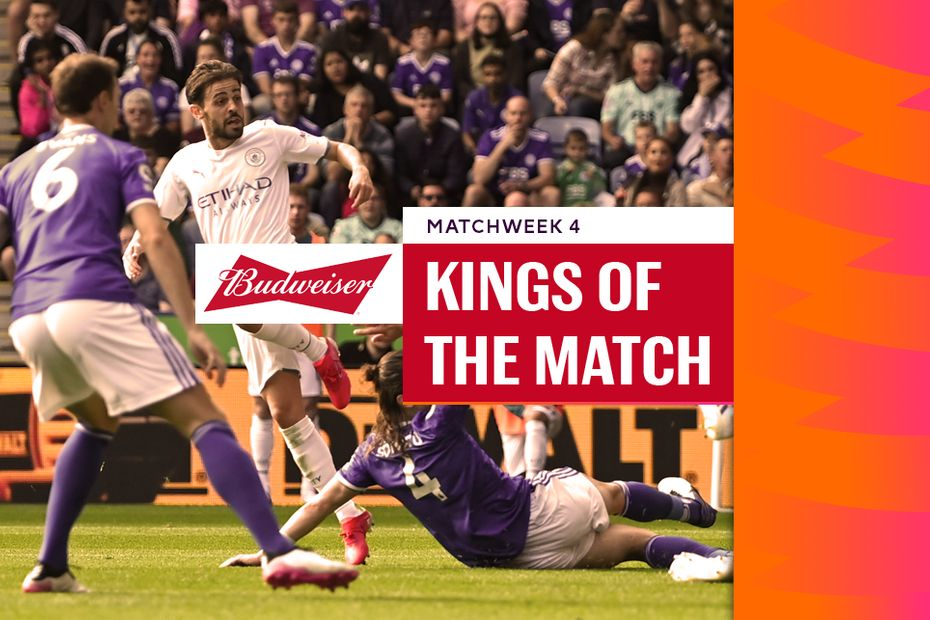 Kings of Matchweek 4: Bernardo Silva