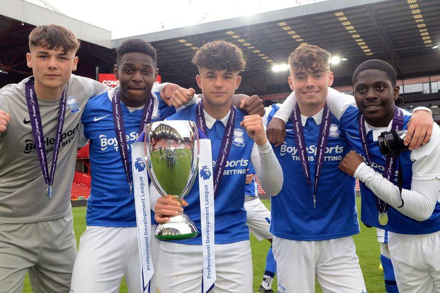 Birmingham City win the 2020/21 Professional Development League
