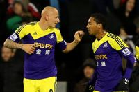 Goal of the day: Shelvey's solo stunner for Swansea