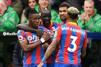 Classic match: Palace put five past Leicester