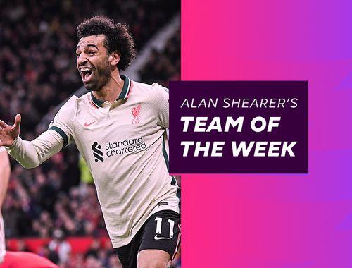 Alan Shearer's Matchweek 9 Team of the Week, featuring Mohamed Salah