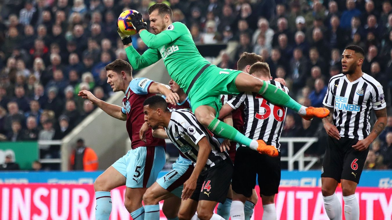 Newcastle United 2-0 Burnley