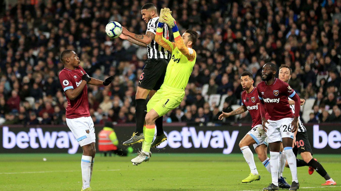 West Ham United 2-0 Newcastle United