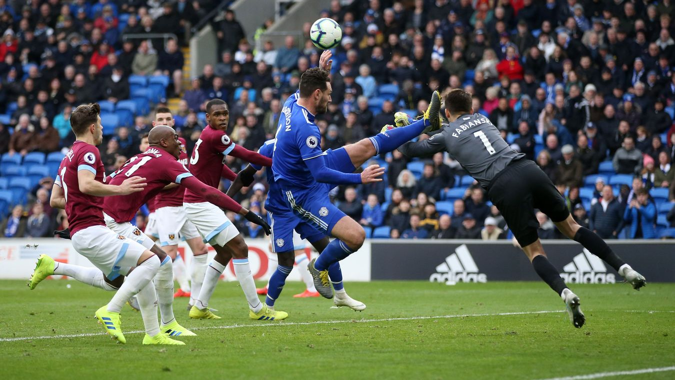 Cardiff City 2-0 West Ham United