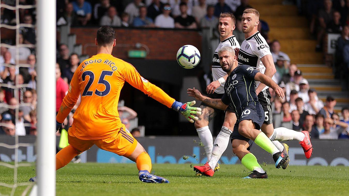 Fulham 0-2 Manchester City