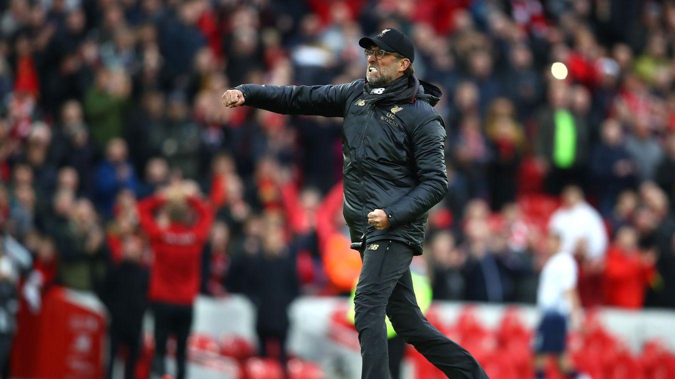 Liverpool 2-1 Tottenham Hotspur