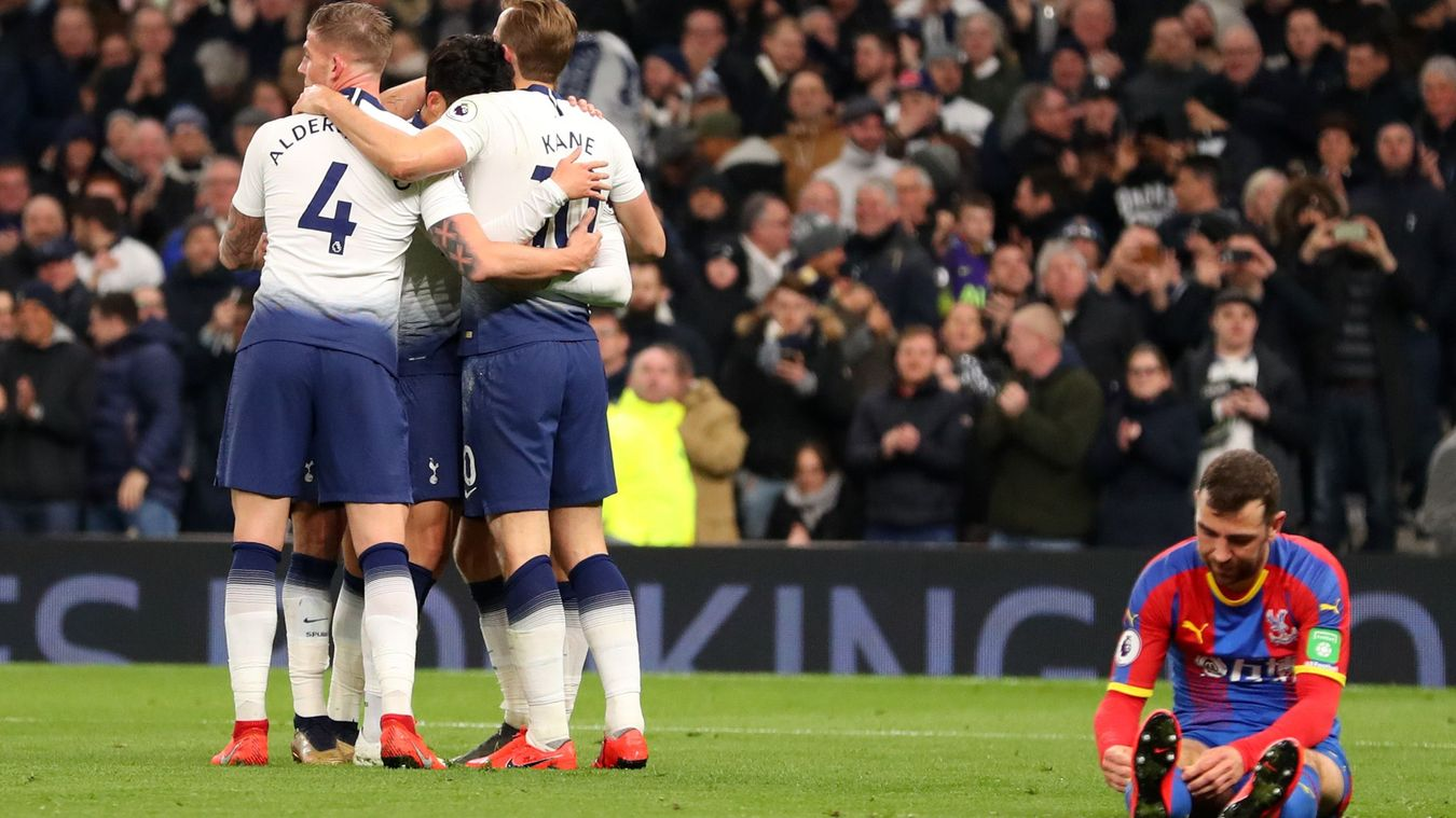 Tottenham Hotspur 2-0 Crystal Palace