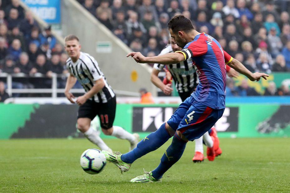 Newcastle United v Crystal Palace -Luka Milivojevic