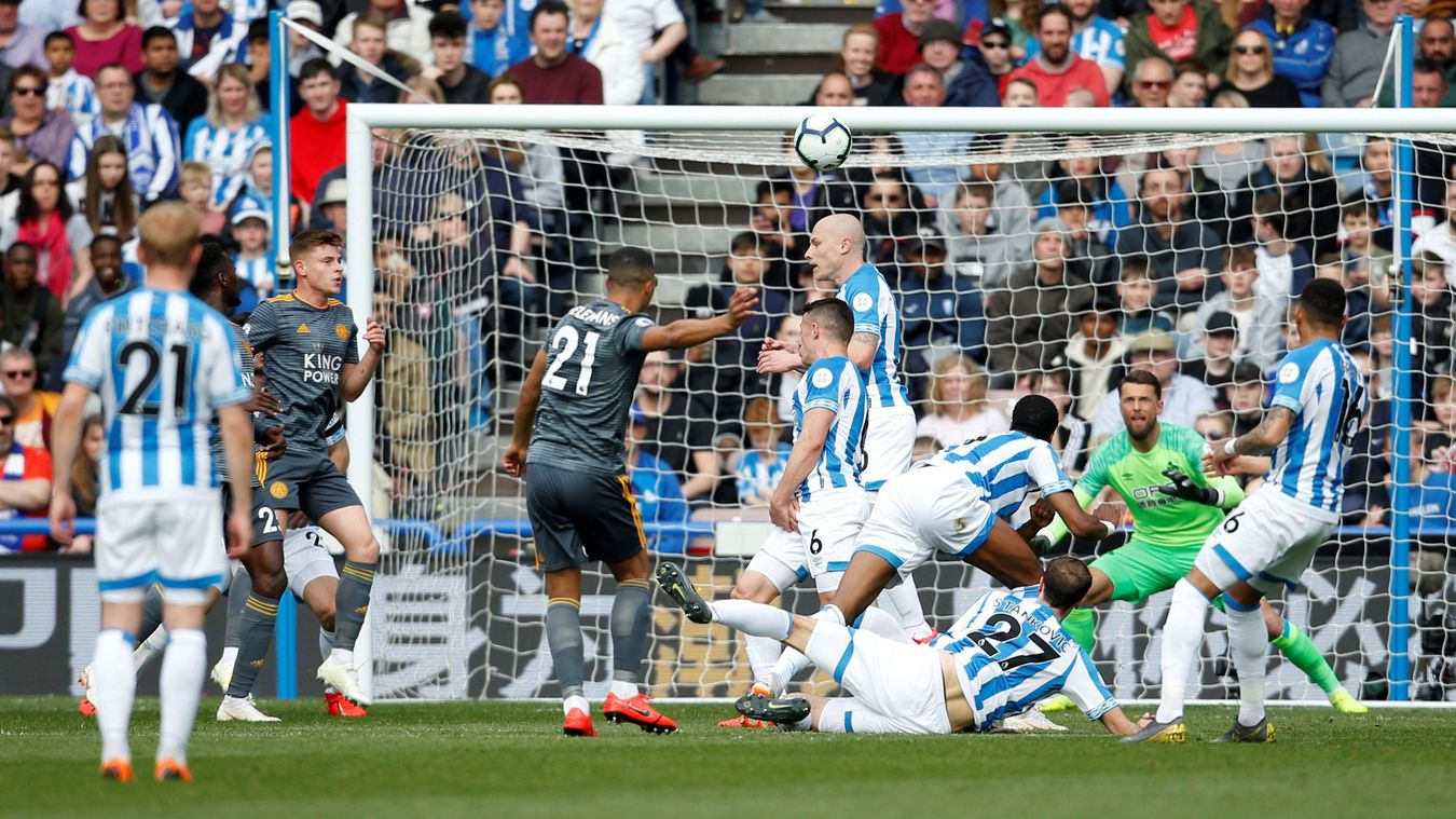 Huddersfield Town 1-4 Leicester City