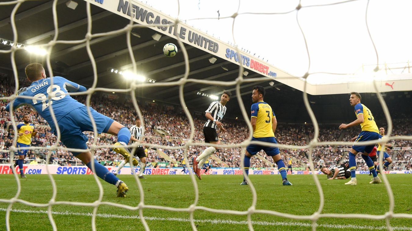 Newcastle United 3-1 Southampton