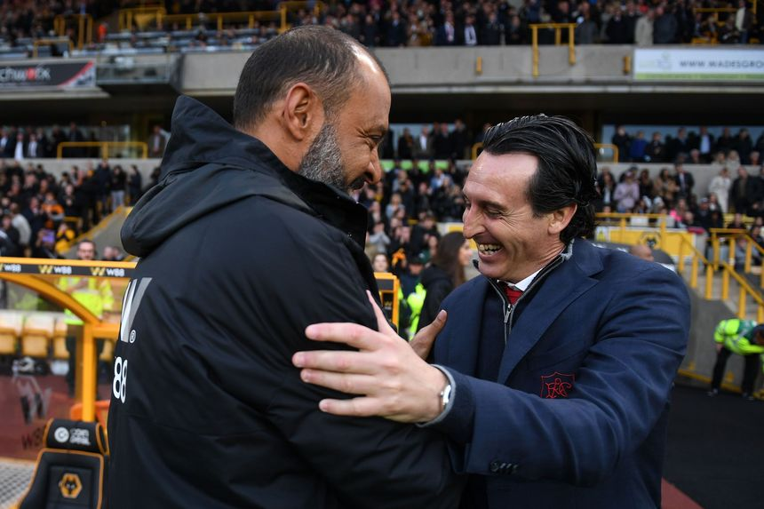 Nuno Espirito Santo and Unai Emery