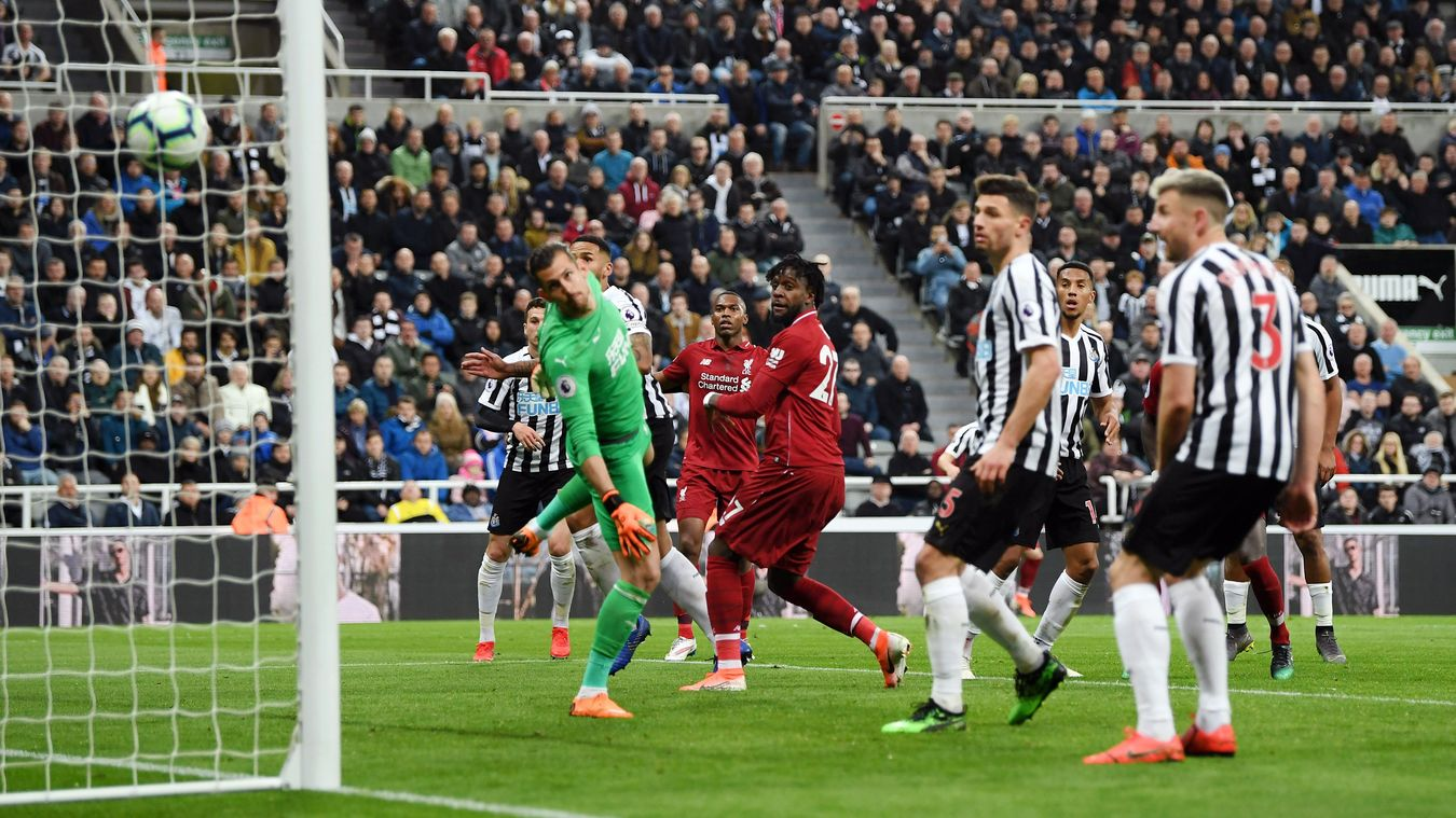Newcastle United 2-3 Liverpool