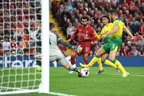 Liverpool V Norwich 2019 20 Premier League