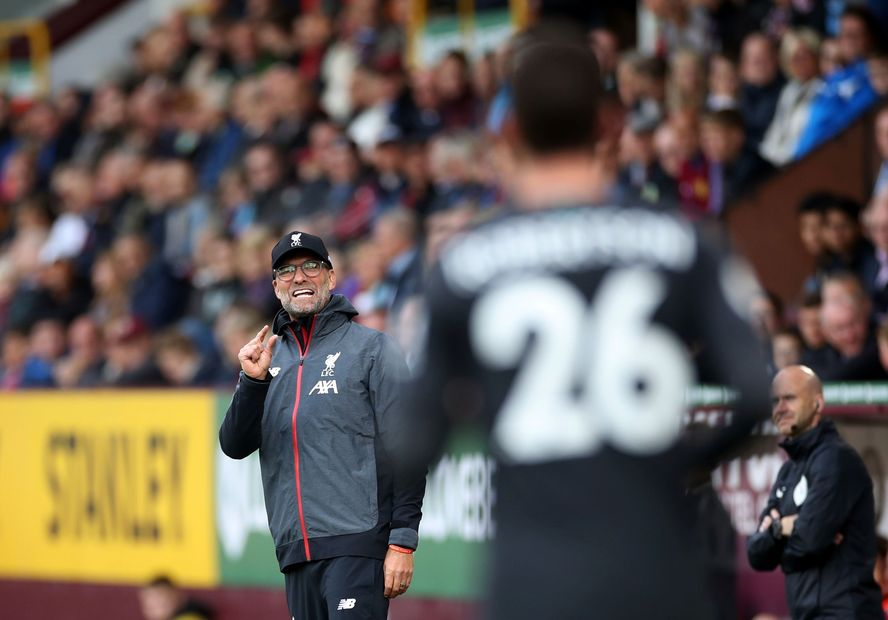 Premier League - Burnley v Liverpool