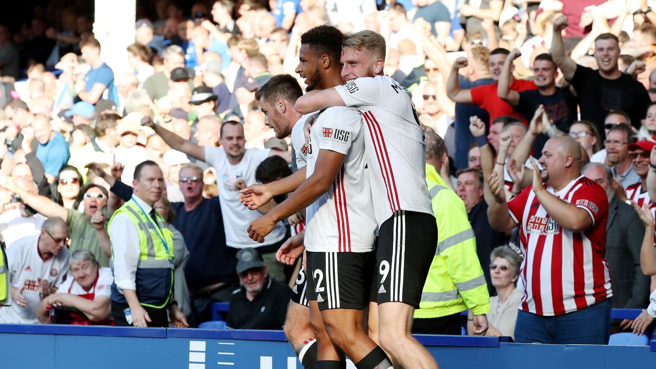 Everton 0-2 Sheffield United