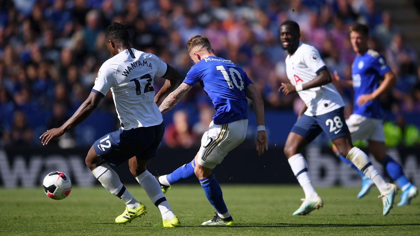 Leicester City 2-1 Tottenham Hotspur