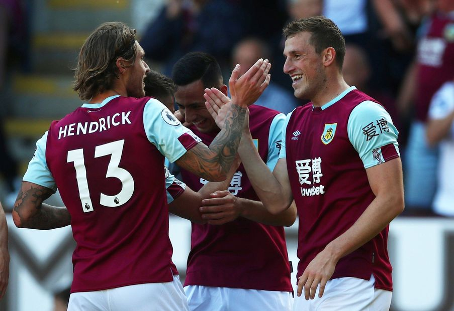 Chris Wood, Jeff Hendrick, Burnley