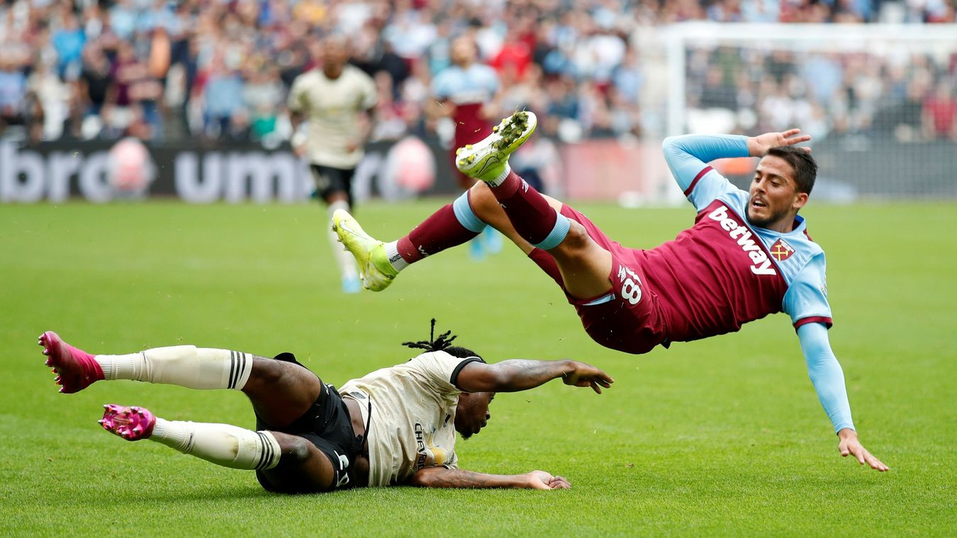 West Ham United 2-0 Manchester United