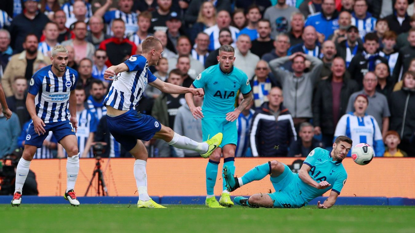 Brighton and Hove Albion 3-0 Tottenham Hotspur Highlights