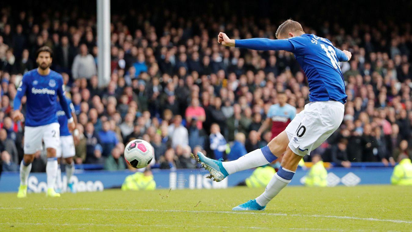 Everton 2-0 West Ham United