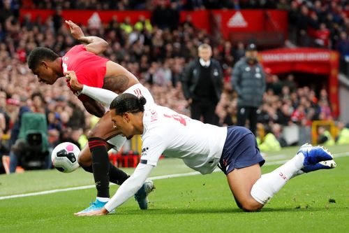 Man Utd V Liverpool 2019 20 Premier League