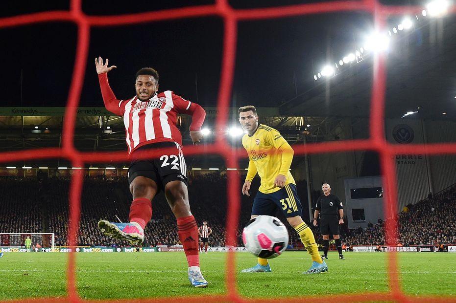 Sheffield United 1-0 Arsenal