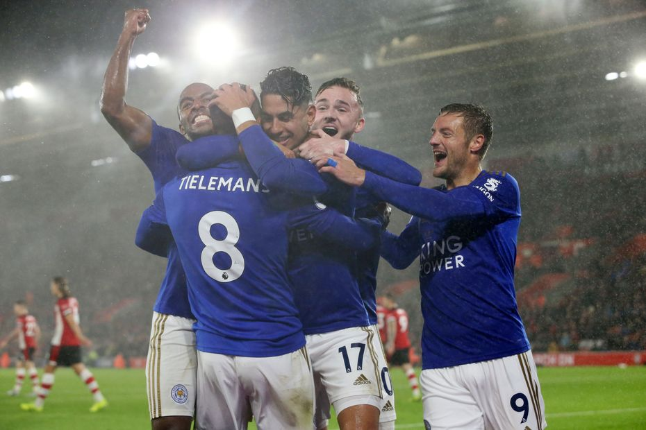 Leicester Score Nine In Double Record Win At Southampton