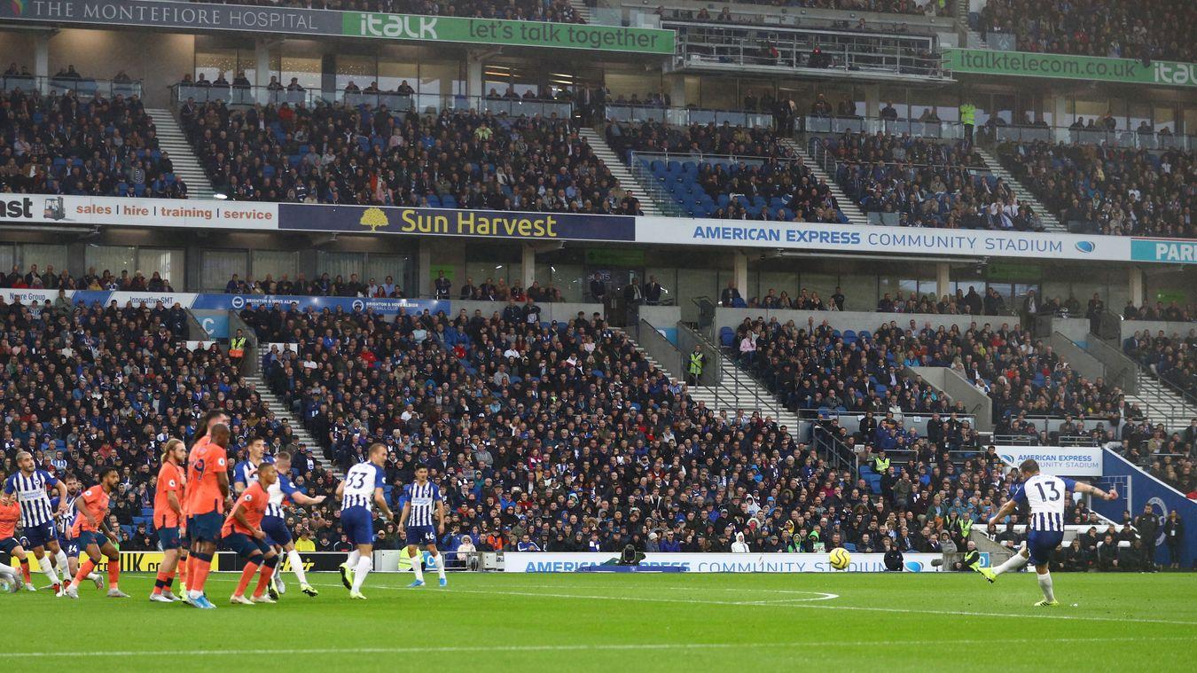 Brighton & Hove Albion 3-2 Everton