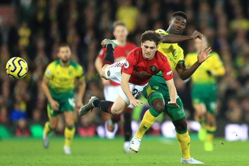 Norwich V Man Utd 2019 20 Premier League