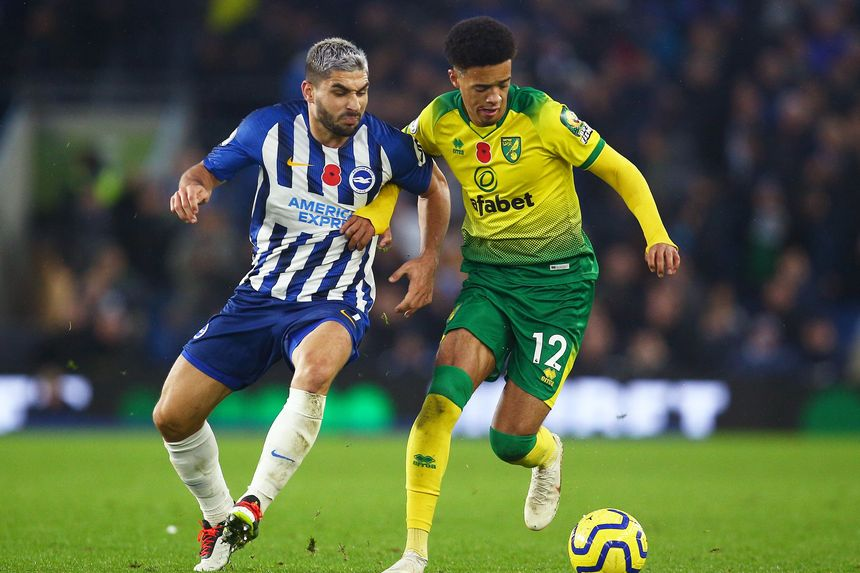 Brighton & Hove Albion v Norwich City