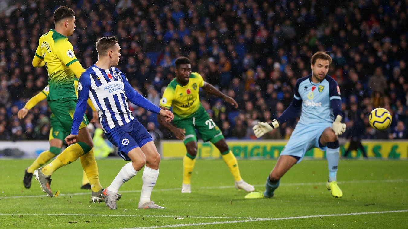 Brighton & Hove Albion 2-0 Norwich City
