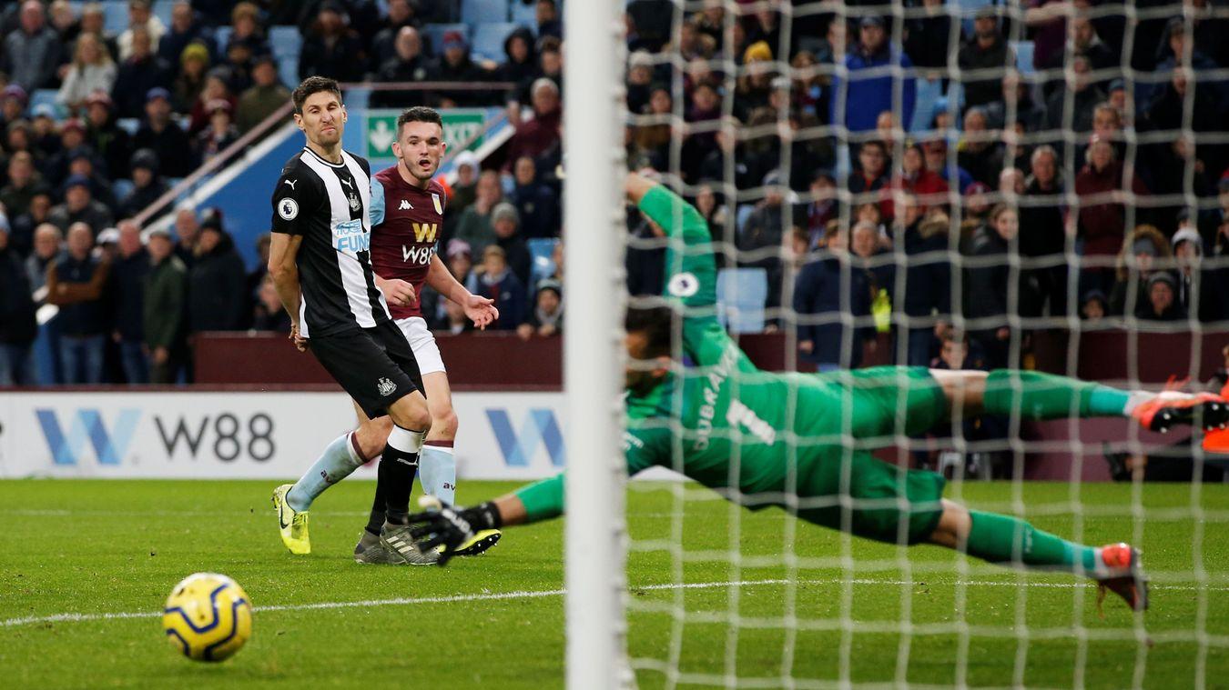 Aston Villa 2-0 Newcastle United