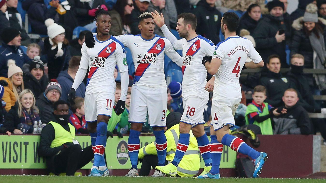 Burnley 0-2 Crystal Palace