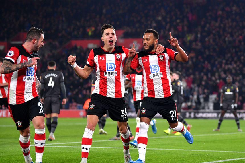 Southampton 2-1 Norwich City
