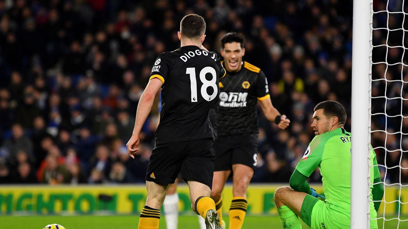 Brighton & Hove Albion 2-2 Wolverhampton Wanderers