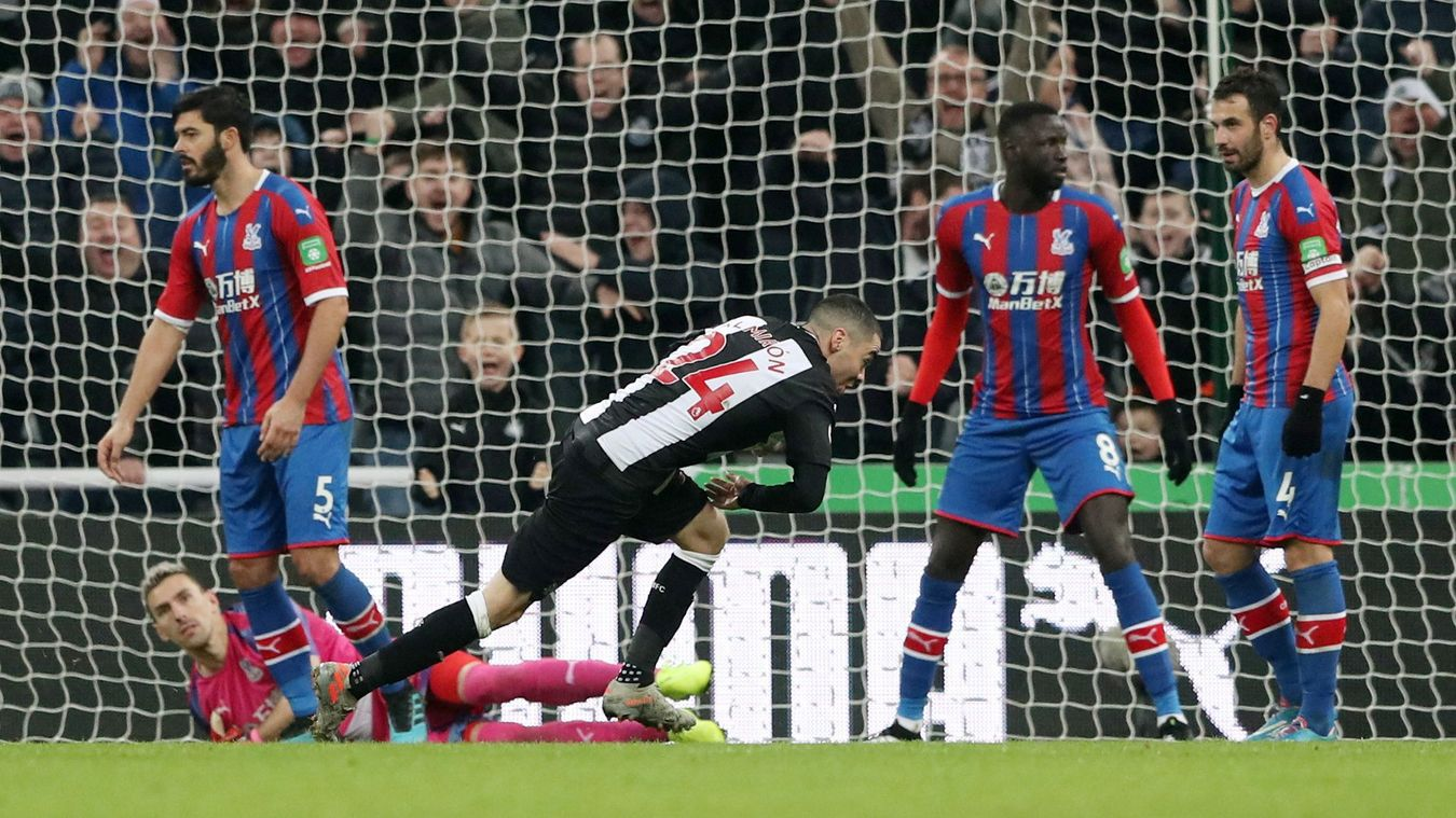 Newcastle United 1-0 Crystal Palace