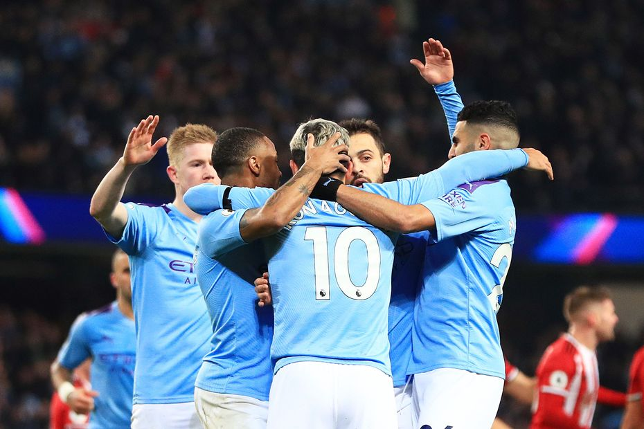 Manchester City v Sheffield United