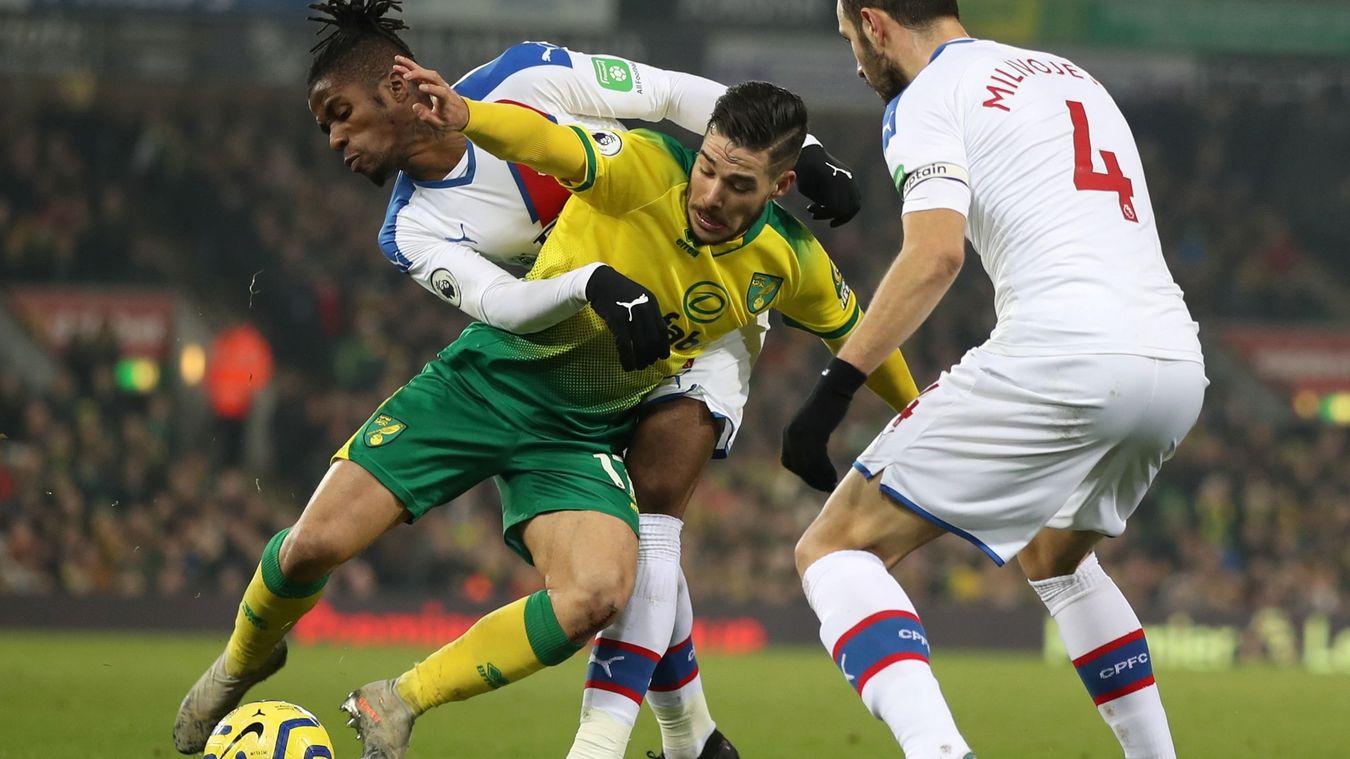 Norwich City 1-1 Crystal Palace