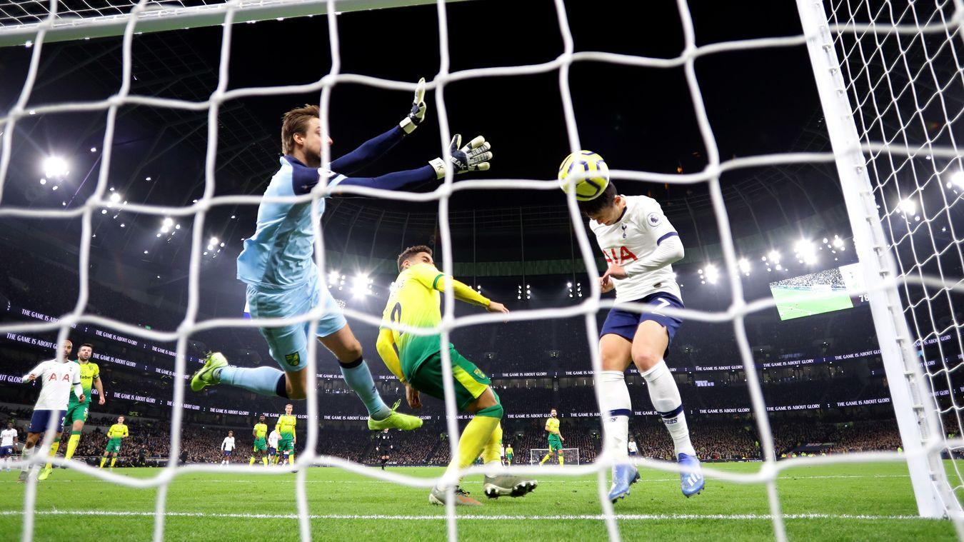 Tottenham Hotspur 2-1 Norwich City