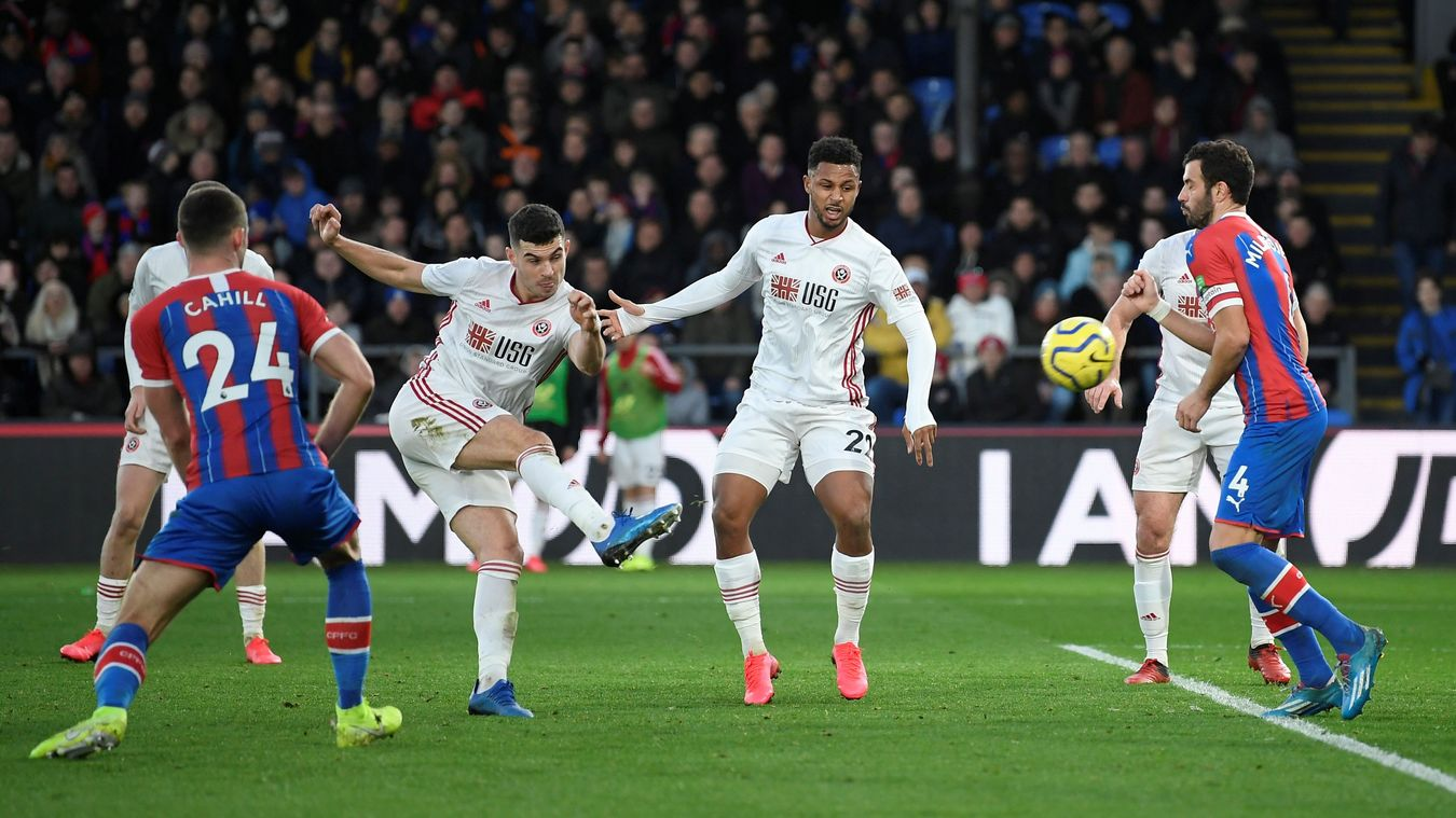 Crystal Palace 0-1 Sheffield United
