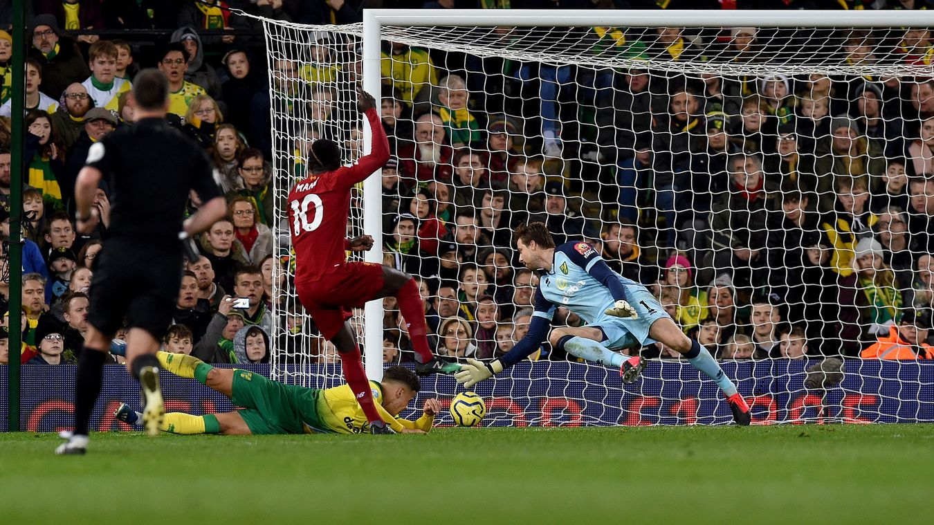 Norwich City 0-1 Liverpool