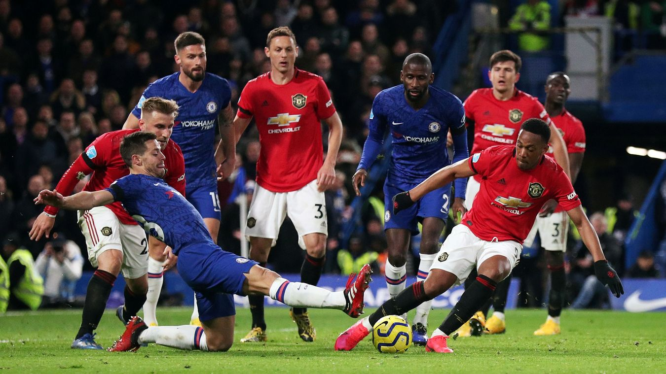 Chelsea 0-2 Manchester United