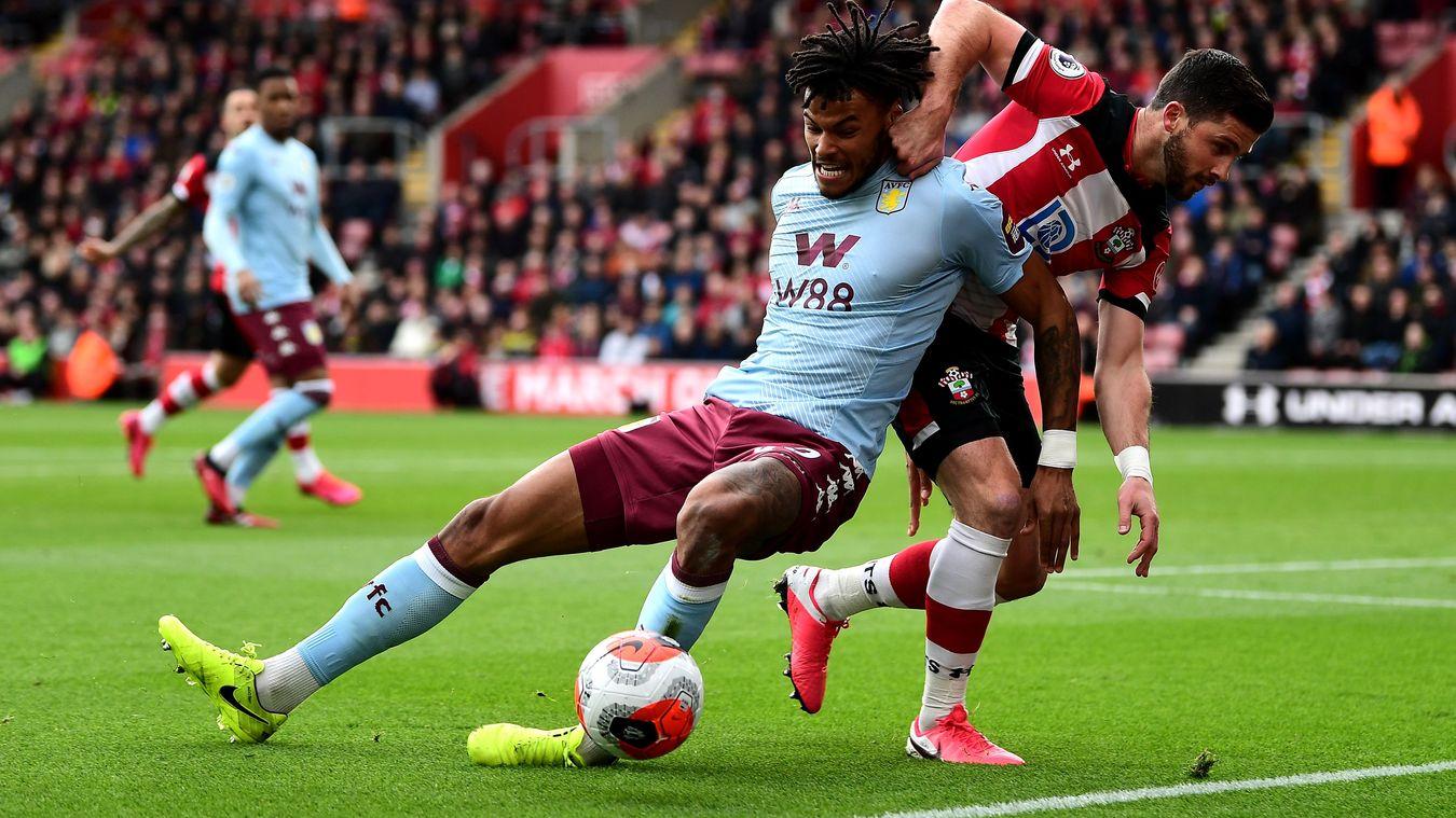 Southampton 2-0 Aston Villa